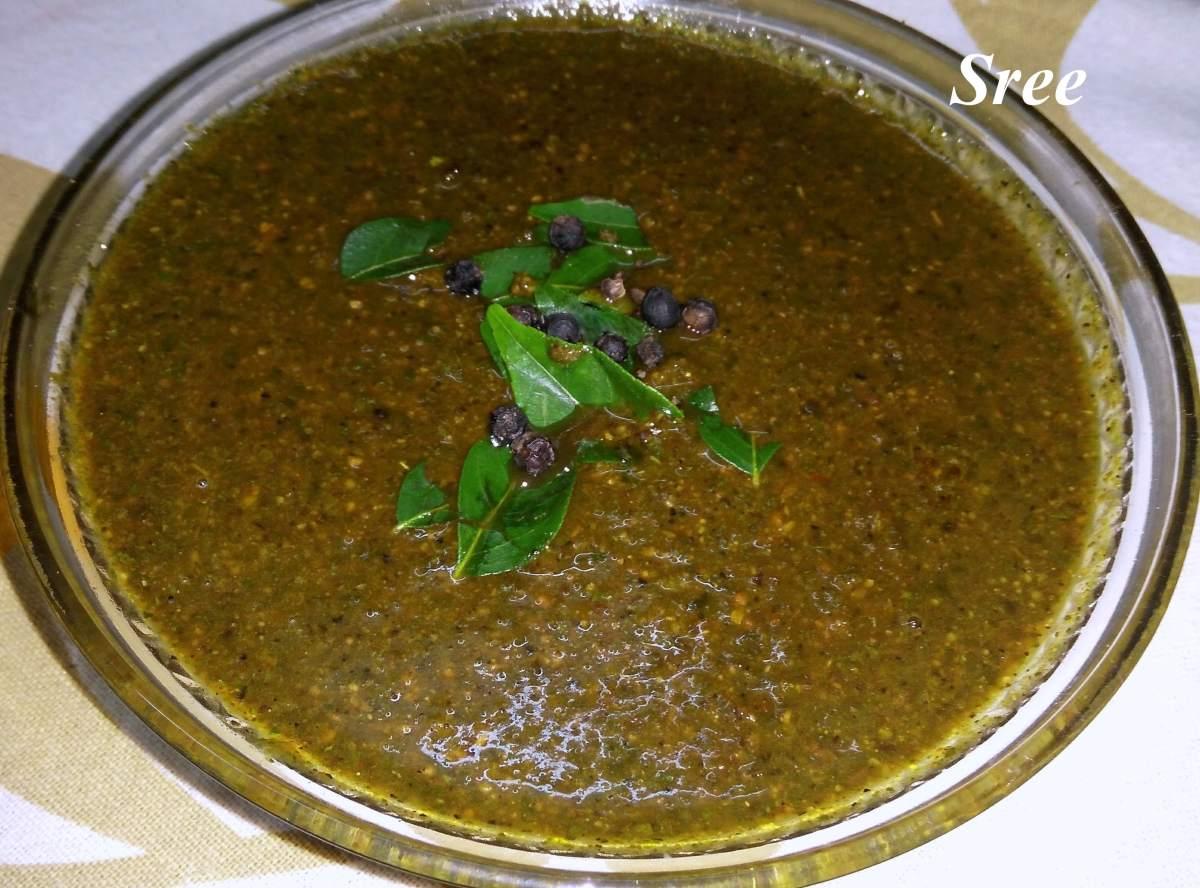 Instant Milagu Kuzhambu (Pepper Gravy) in 3 minutes