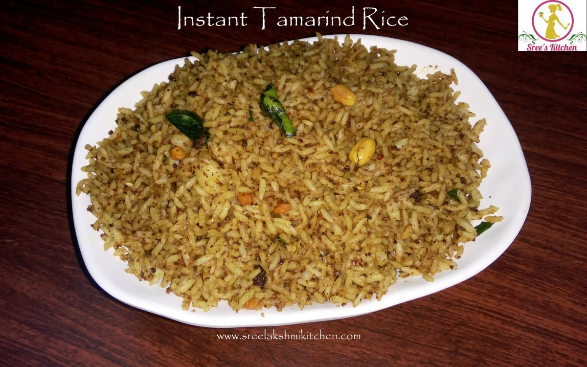 Tamarind rice (Instant in less than 10 minutes)
