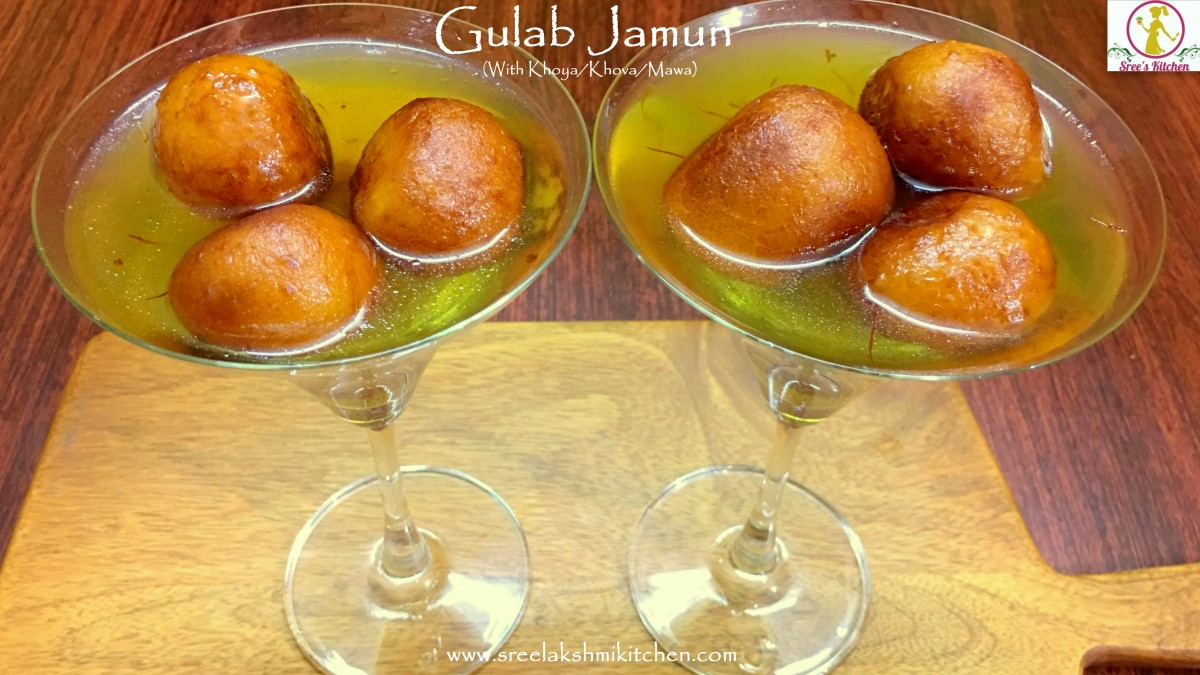 Gulab Jamun (With Khoya/Mawa/Khova/Milk solid)