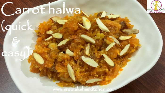gajar halwa wordpress