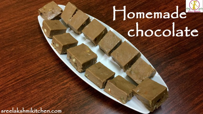 chocolate, chocolate recipe, homemade chocolate recipe, easy chocolate recipe, simple chocolate recipe