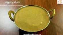 jaggery kheer recipe, gur ki kheer, vella payasam in tamil, arisi paruppu payasam, paruppu payasam
